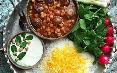 قیمه بادمجان بوشهری